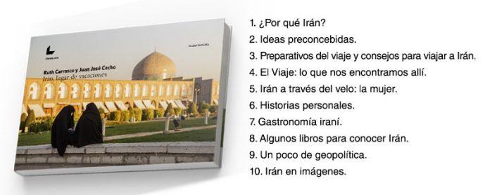 Portada de Irán, lugar de vacaciones