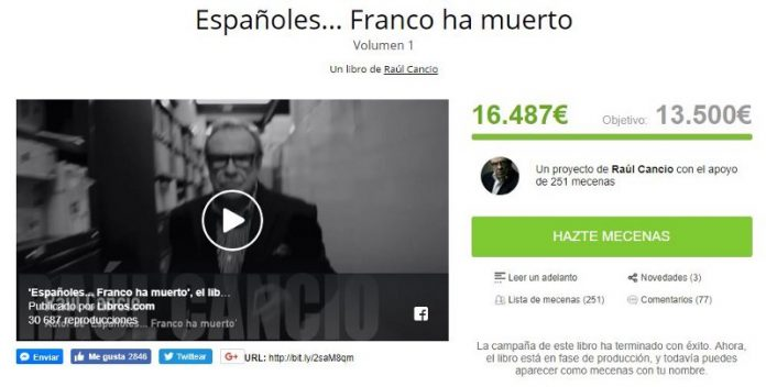 Españoles... Franco ha muerto