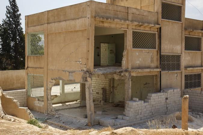 Casa destruida en Siria